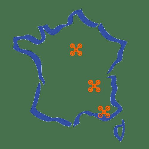 Carte de France Techni-Flight